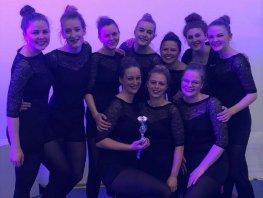 Zilver voor dansselectie Olympia Harderwijk