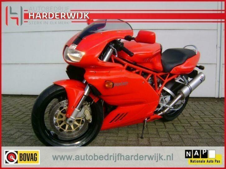Ducati 620S te koop (in prijs verlaagd naar € 2.500,=)