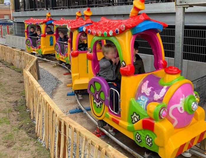 Opening van de Kok Express op zaterdag 6 april. Dé kindertrein van Harderwijk!