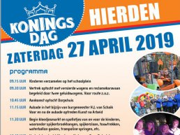 Programma Koningsdag Hierden 2019