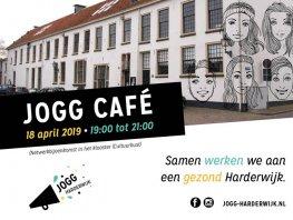 JOGG Café in Harderwijk donderdag 18 april