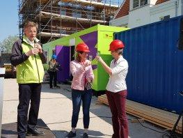 Hoogste punt sociale huurwoningen Waterfront bereikt