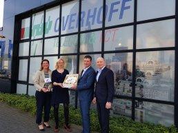 Gemeente en provincie zetten firma Overhoff in het zonnetje