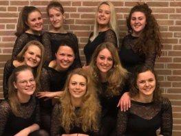 Dansselectie G.V. Olympia heeft zich geplaatst voor de Nederlandse Kampioenschappen Jazzdans!