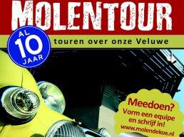 10e MolenTourTocht op zaterdag 25 mei 2019