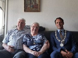 Echtpaar Uit de Bosch en Franken 60 jaar getrouwd