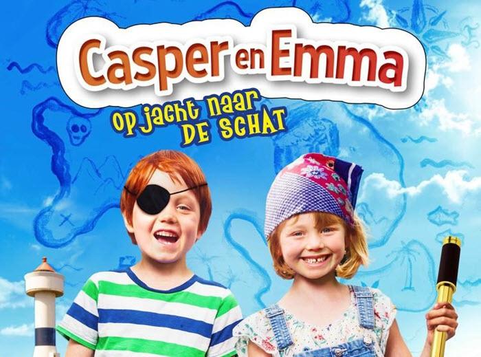 Peuterbios met de film Casper en Emma op jacht naar de schat
