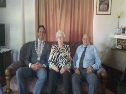Echtpaar Nijveld en Nijveld-van Ark vieren 60 jarig huwelijksfeest