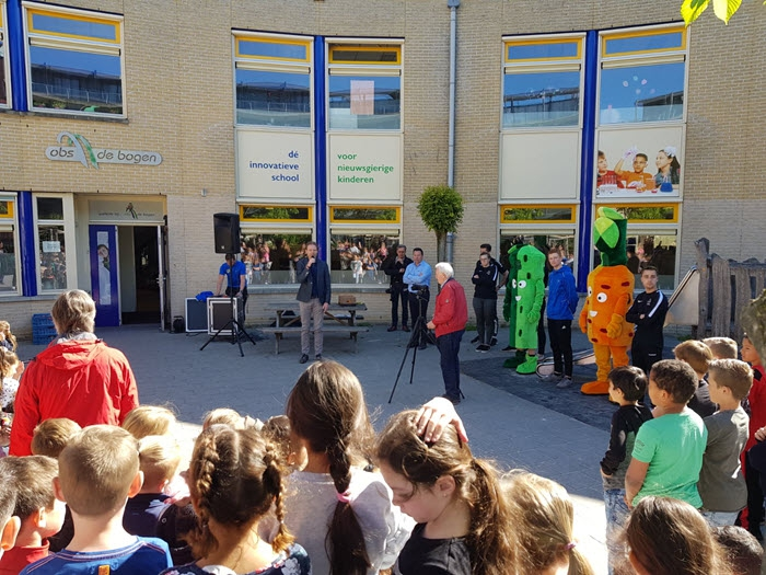 Officiële start van het verstrekken van fruit aan leerlingen van de basisscholen in de gemeente Harderwijk 3