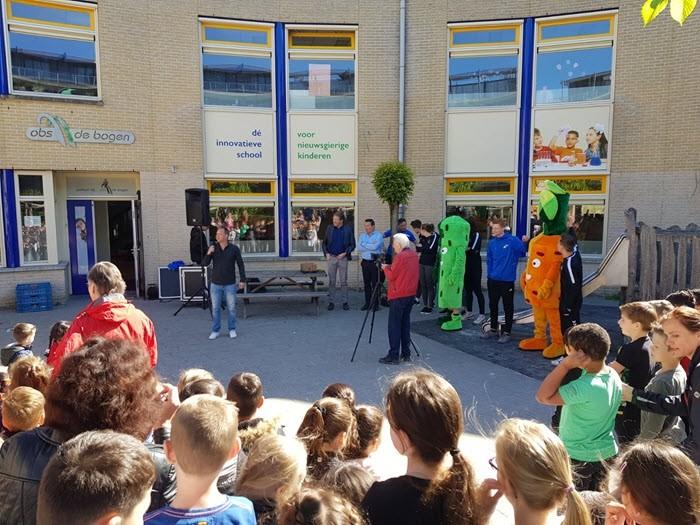 Officiële start van het verstrekken van fruit aan leerlingen van de basisscholen in de gemeente Harderwijk 1