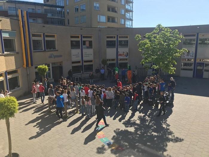 Officiële start van het verstrekken van fruit aan leerlingen van de basisscholen in de gemeente Harderwijk 2