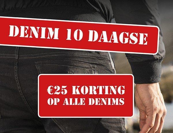 Denim 10 daagse bij Germano Menswear in Harderwijk