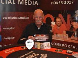 Hans Verhoog is Pokerkampioen van Harderwijk
