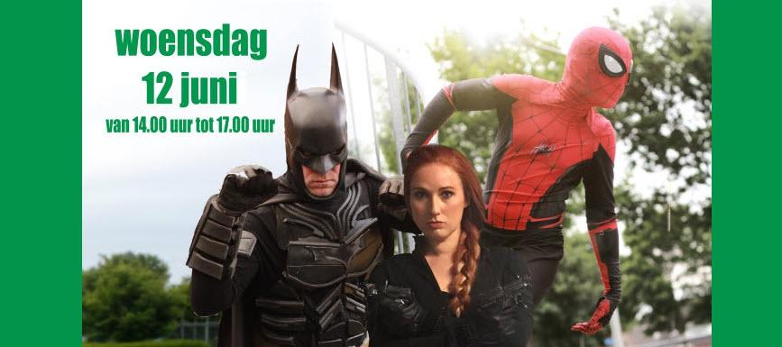 Ga op de foto met jouw superheld bij Specsavers Harderwijk!
