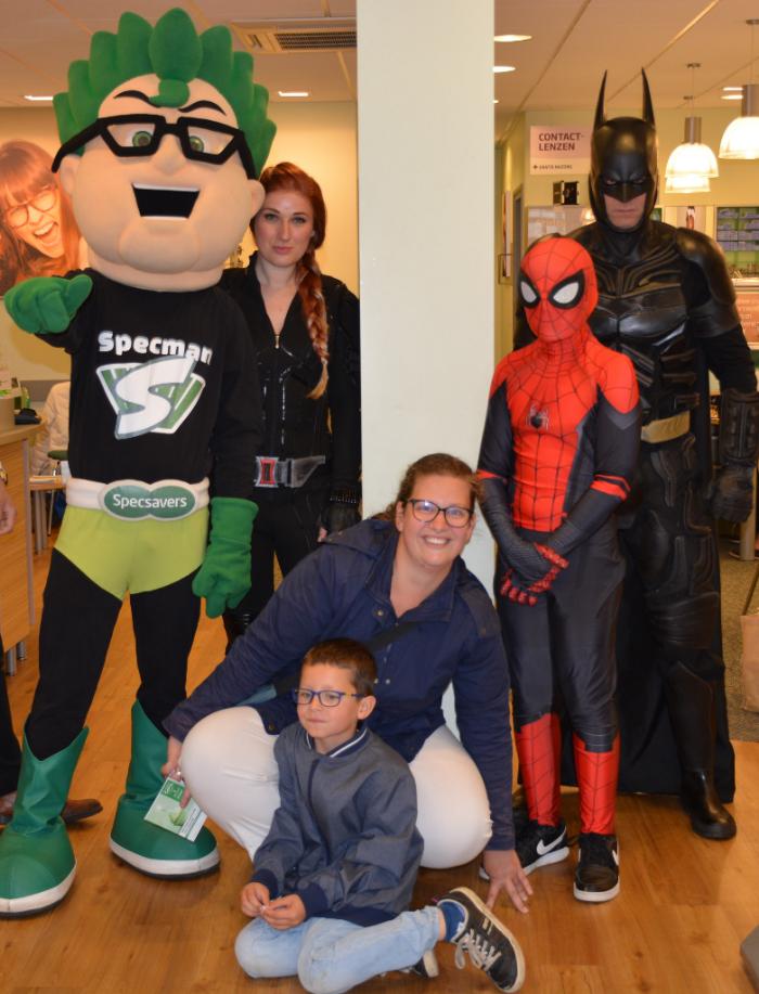 Superhelden bij Specsavers Harderwijk 3