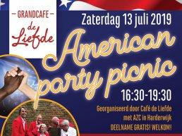 Grote picknick met eten, muziek en gesprek bij AZC Harderwijk