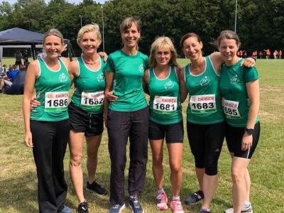 Athlos-dames verbreken nationaal record Ekiden