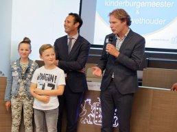 Eerste kinderburgemeester en kinderwethouder van Harderwijk