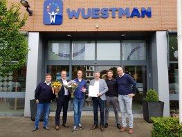 Wuestman wint verkiezing beste leerbedrijf 2019 van de provincie Gelderland in de sector Handel