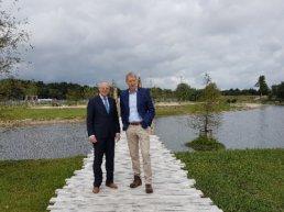Verantwoord waterbeheer en recreatie gaan hand in hand in Harderweide