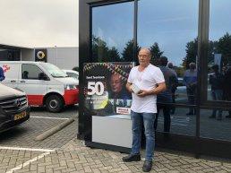 Evert Teunissen viert 50-jarig jubileum bij Wensink Harderwijk