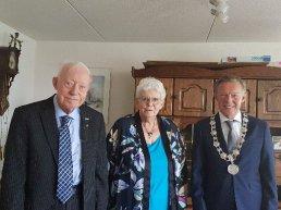 Echtpaar Muit & de Waal 60 jaar getrouwd!