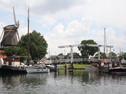 Ophaalbrug Haven van Harderwijk tijdelijk buiten gebruik