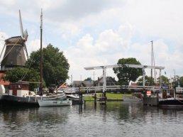 Brug vissershaven weer in functie