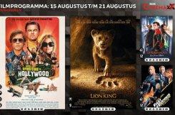 Filmoverzicht bioscoop Kok CinemaxX Harderwijk van 15 augustus t/m 21 augustus