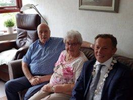 Bruidspaar Jansen & Petersen vieren 60 jarig jubileum