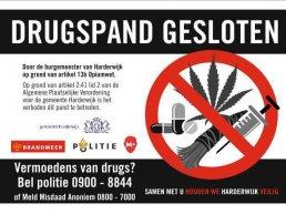 Opnieuw drugspand gesloten in Harderwijk