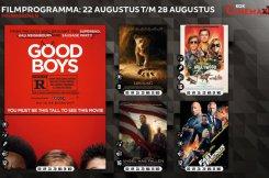 Filmprogramma bioscoop Kok CinemaxX Harderwijk 22 t/m 28 augustus