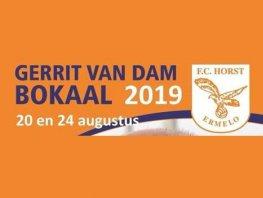 Zwart-Wit'63 verrast FC Horst tijdens de Gerrit van Dam Bokaal in Ermelo