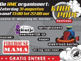 Nieuw festival in Hierden: Knalpupe Festival