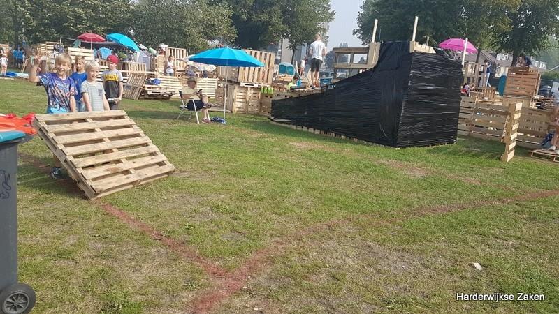 Huttenfeest Harderwijk woensdag 28 augustus 1