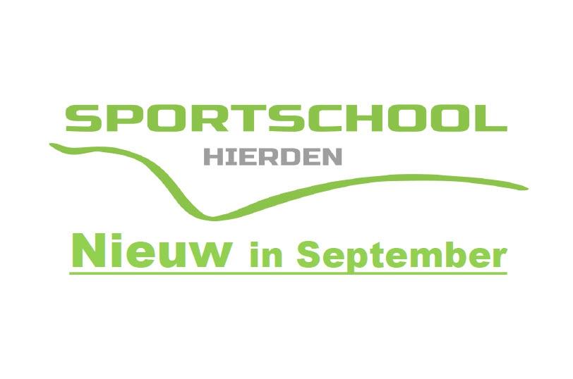 Sportschool Hierden biedt in september weer nieuwe sporten aan