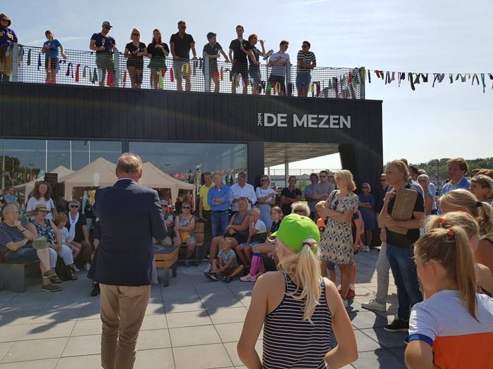 Nieuw clubhuis bij hockeyclub de Mezen officieel geopend!