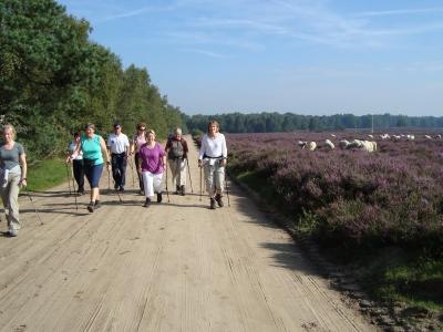 Nordic Walken bij Athlos