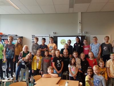 Harderwijker basisscholen doen mee met E-waste Race Noord Veluwe