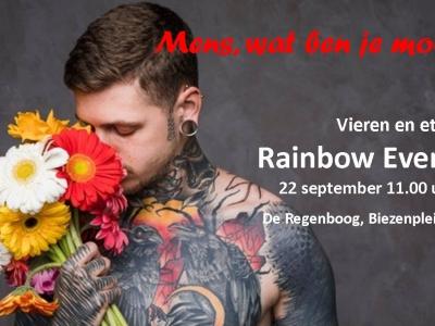 Rainbow Event zondag 22 september in de Regenboog