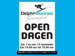Indoorski- en Snowboardcentrum Delphindoorski Ermelo houdt zondag 15 september een opendag