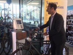 Nog sneller in –en uitchecken met je fiets!