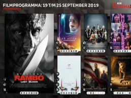 Filmoverzicht bioscoop Kok CinemaxX Harderwijk van 19 september t/m 25 september 2019
