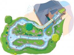 Bouw wildwaterbaan Bosbad Putten van start