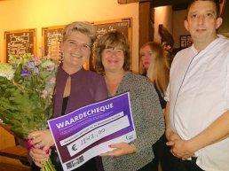 Samenwerking Bistro Vischmarkt 49 en Team 19 voor Samenloop voor Hoop Harderwijk groot succes!