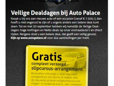 Veilige Dealdagen bij Auto Palace Harderwijk