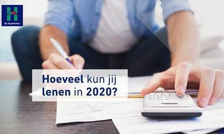 Hoeveel kan jij lenen in 2020?