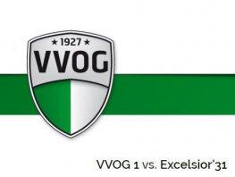 VVOG verliest van Excelsior '31 (wedstrijdverslag)