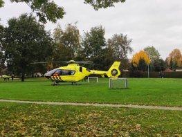Traumahelikopter opgroepen bij ongeval Harderwijk