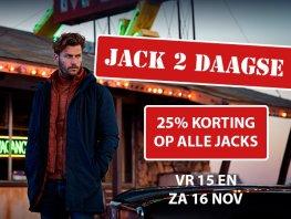 Jack 2 daagse bij Germano Menswear